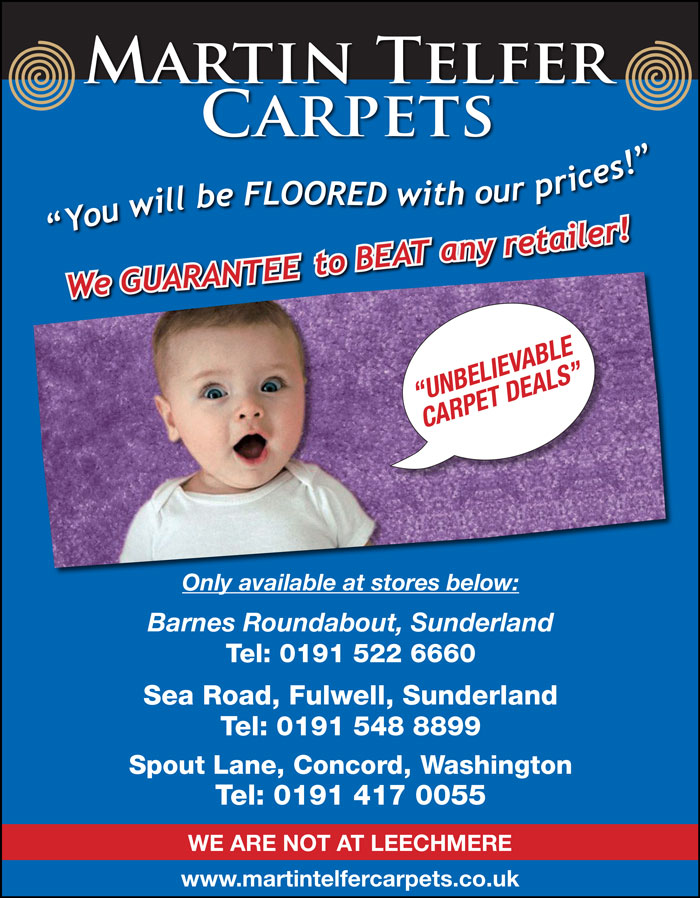 Offers Martin Telfer Carpets
